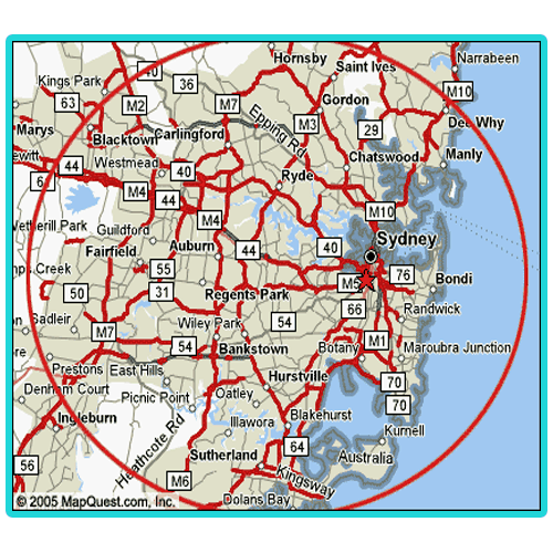 Sydney Metro Delivery Area