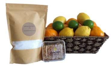 Get well citrus fruit basket