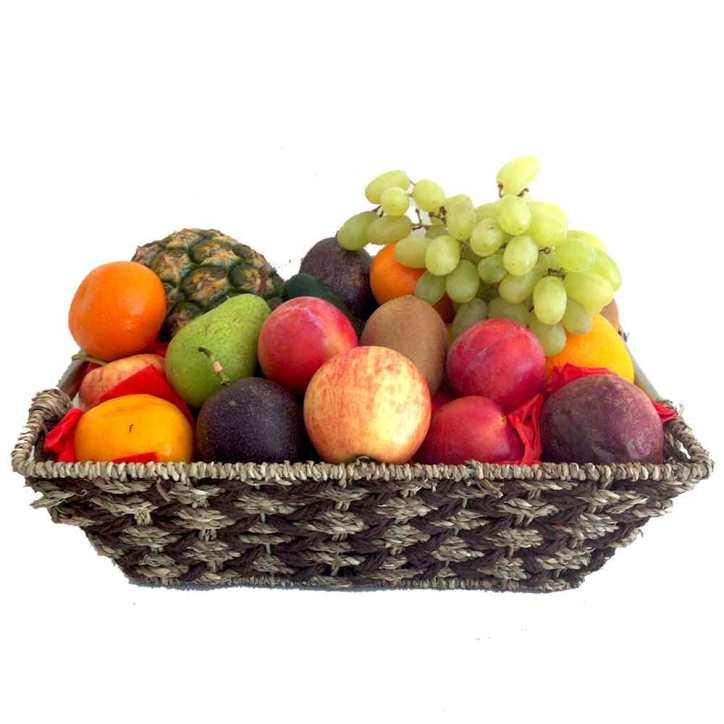 Fruit Basket Gift with Metal Handles