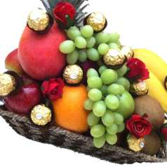 Fruit Basket Christmas Gifts