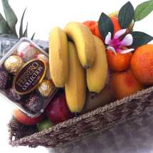 Fruit Baskets with Chocolate