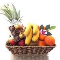Fruit Basket Gift + Chocolate