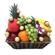 Fruit Basket + Chocolate
