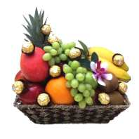 Fruit Basket + Chocolate