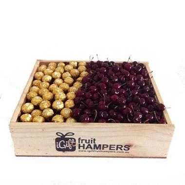 Christmas Hamper + Cherries + Chocolates