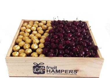 Christmas Hamper + Cherries + Chocolates