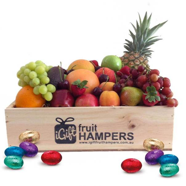 Fruit hampers fruit baskets gifts delivered across australia this easter we are featuring a fantastic array of easter gifts all perfectly created with add on easter eggs in a basket or hamper negle Gallery